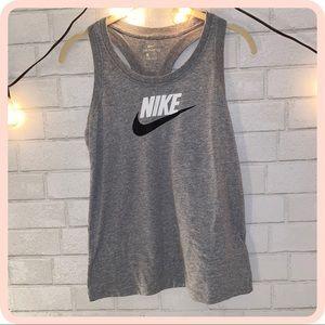 ♢ Nike grey tank top ♢